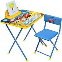 Набор мебели Ника DISNEY стол+пенал+стул Тачки арт Д2T