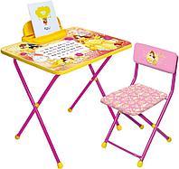 Набор мебели Ника DISNEY стол+пенал+стул Белль арт Д4Б