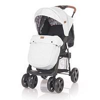 Прогулочная коляска Lorelli INES + накидка на ножки . Серо-черный / Grey&Black CROS 2087