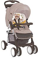 Прогулочная коляска Bertoni Foxy с накидкой на ножкиБежево - Желтый / Beige & Yellow FAMILY 1803