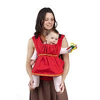 Cлинг-рюкзак Чудо-Чадо Дочкомобиль, цвет красный