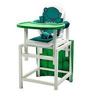 Стол-стул для кормления BABYS зеленый FROGGY