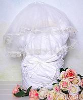 Одеяло с вуалью ARSI Флоренция, молочный Арт.1215М