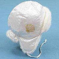 Шапка Carpoli зимняя Жемчужина, белая