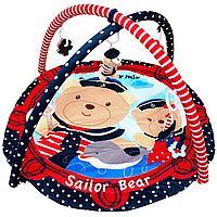 Игровой коврик Baby Mix Sailor Bear арт 3406C-62104