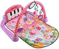 Игровой коврик /Lorelli toys/ Пианино 92*60, розовый