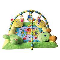 Игровой коврик /Lorelli toys/  с 4-мя подушечками
