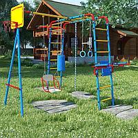 Уличный детский спортивный комплекс серии ЮНЫЙ АТЛЕТ Плюс