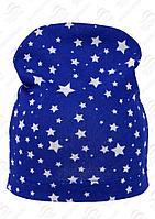 Шапка Русский трикотаж SVP-17481/3 (р.50-52), цвет синяя со звездами