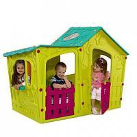 Игровой дом KETER складной ВОЛШЕБНАЯ ВИЛЛА (169x110x126h) Зелено-бирюзовый арт. 17190655