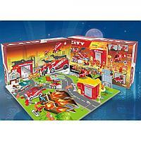 Игровой набор Saipo Пожарная станция