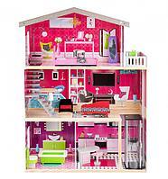 Кукольный дом Edufun с мебелью 115 см EF4118