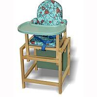 Стол-стул для кормления Вилт СТД-07 бирюза