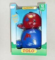 Набор игрушек для ванны и песочницы Рыбки Tolo