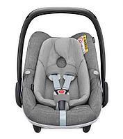 Автокресло Maxi-Cosi Pebble Plus +0, цвет Nomad Grey