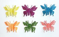 Зажимы-бабочки и стрекозы блестящие