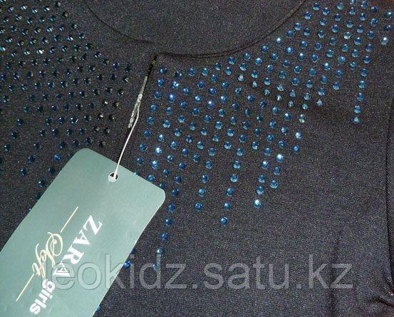 Болеро синее Zara со стразами (3-4 года) - фото 2