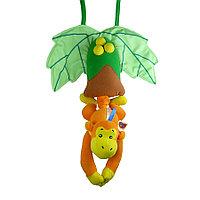 Подвесная игрушка Biba Toys Музыкальная обезьяна BM659