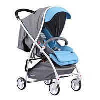 Прогулочная детская коляска Quatro Lion TURQUISE Голубая 13