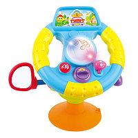 Развивающая игрушка Hola Toys Интерактивный руль