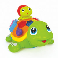Развивающая игрушка Hola Toys ВЕСЕЛЫЕ ЧЕРЕПАШАТА (музыка, свет)