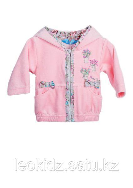 Жакет для девочки 160132, розовый - фото 1