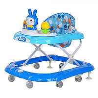 BAMBOLA Ходунки ЗАЙКА (8 силик.колес,игрушки,муз) 616 BLUE Голубой