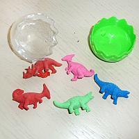 Набор стирательных резинок в яйце, Динозавры