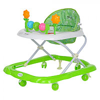 BAMBOLA Ходунки ЦВЕТОЧЕК (6 пласт.колес,игрушки,муз) GREEN Зеленый
