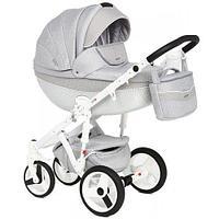 Детская коляска 2в1 Adamex Monte Carbon D27