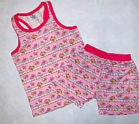 Пижама розовая тортики (6-7 лет)