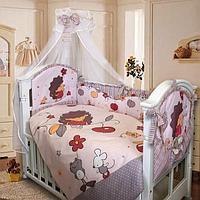 Комплект в кровать Золотой гусь ЁЖИК ТОПА-ТОП (8 предметов), цвет бежевый