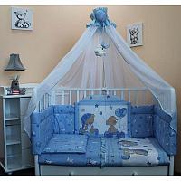 Комплект в кровать БАЛУ Загадка, голубой, в ассортименте