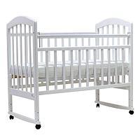 Детская кроватка Топотушки Лира-2 белый