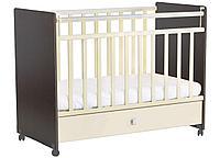 Кровать детская Фея 700 венге-бежевый