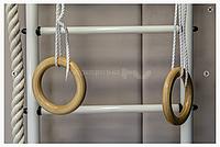 Кольца гимнастические деревянные