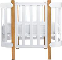 Кроватка детская Happy Baby MOMMY LUX белая