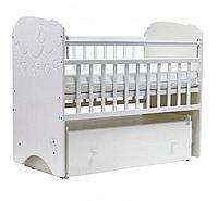 Детская кроватка Топотушки Софья - облака белый