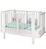 Детская кроватка - трансформер Оливия Белая
