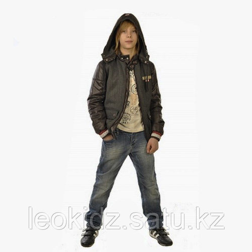 Куртка демисезонная Бадди коричневая (164 см)