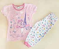 Пижама для девочки розовая Paris (122 см)