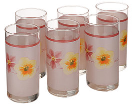 Набор стаканов Luminarc Poeme Rose6 штук
