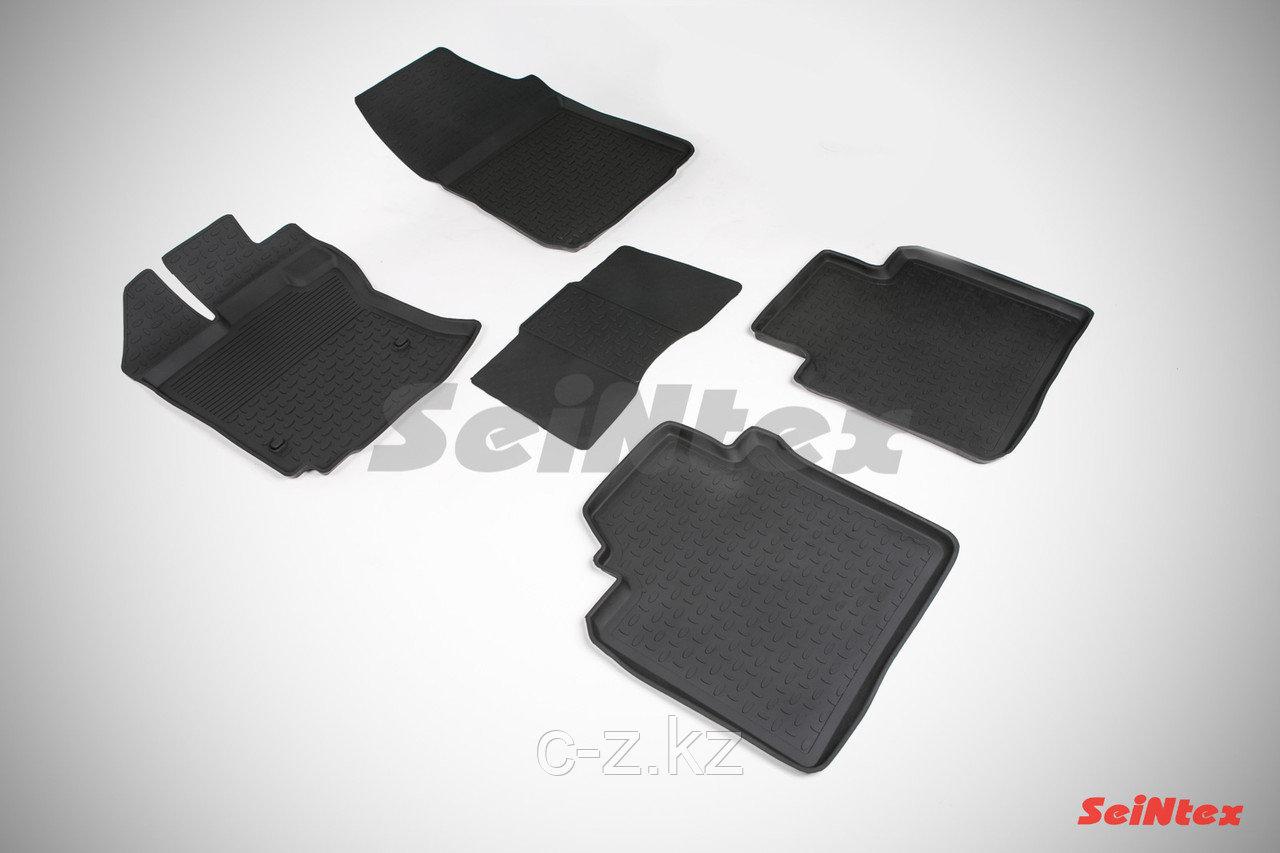 Резиновые коврики с высоким бортом для Toyota Venza 2008-н.в.