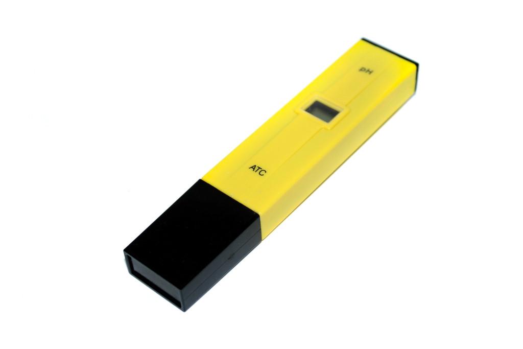 Портативный рН-метр, тестер pH от 0 до 14 рН, шаг измерений 0,1 рН
