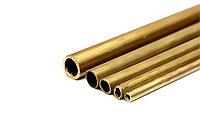 Трубки латунные тонкостенные Л63 16-19 мм ст.0,8-1,5 ГОСТ 11383-75