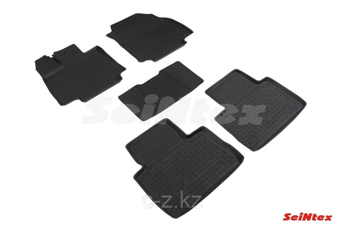 Резиновые коврики с высоким бортом для Toyota RAV 4 V (2019-н.в.)