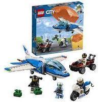 60208 Город Воздушная полиция: Арест парашютиста