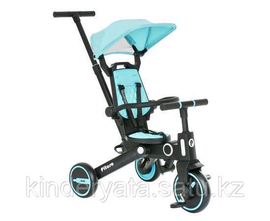 PITUSO Велосипед трехколесный Leve, складной, разм. упак. 65х34х31 см, Blue/Голубой