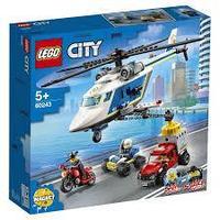 60243 Город Погоня на полицейском вертолете