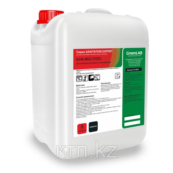 SAN - MULTIGEL, 5 л, Для комплексной уборки и дезинфекции.